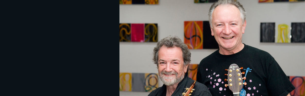 Andy Irvine And Donal Lunny Banner