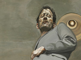 Lucian Freud, A Self Portrait