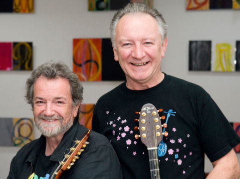 Andy Irvine and Donal Lunny
